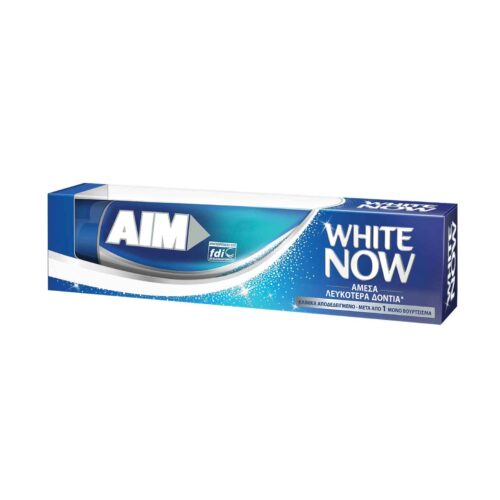 Οδ/μα Aim White Now