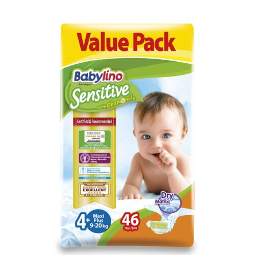 Babylino Sensitive No4+ Econ