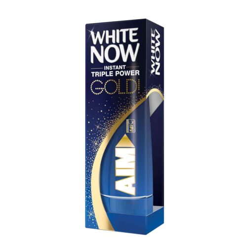 Οδ/μα Aim White Now Gold