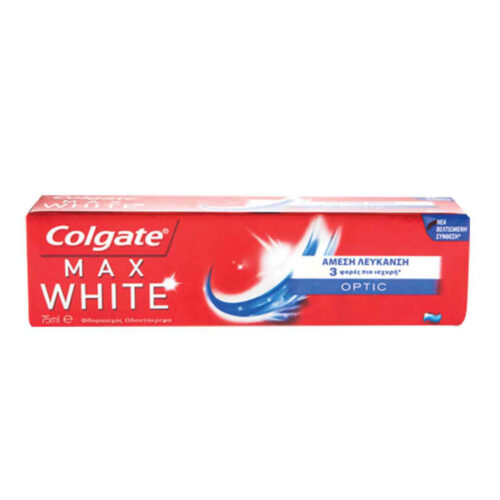 Οδοντόκρεμα Colgate Max White Optic OPTIC