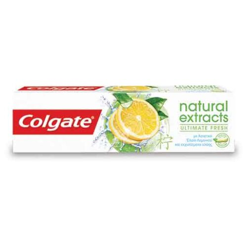 Οδοντόκρεμα Colgate Natural Extracts Ultimate Fresh
