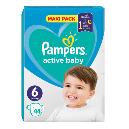 Pampers Active Baby 13-18 N6
