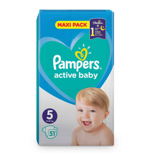 Pampers Active Baby N5 11-16kg