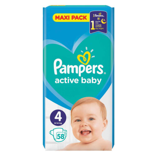 Pampers Active Baby Maxi N4 9-14κ