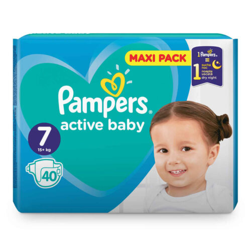 Pampers Active Baby 15+ N7