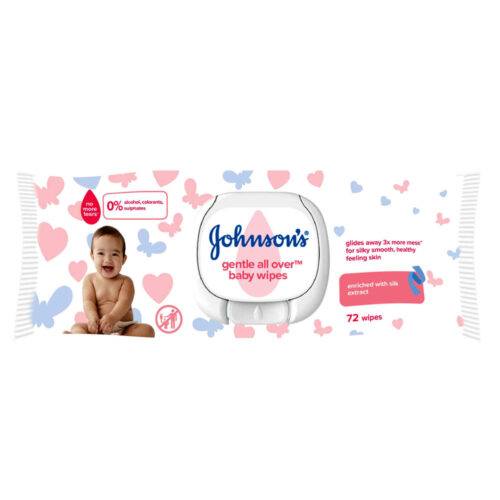 Johnson's BabyWipers Gentle All Over
