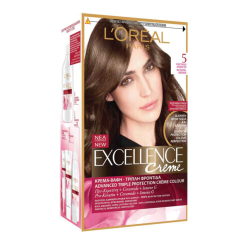 Hair Color Excellence N5 Brown Open