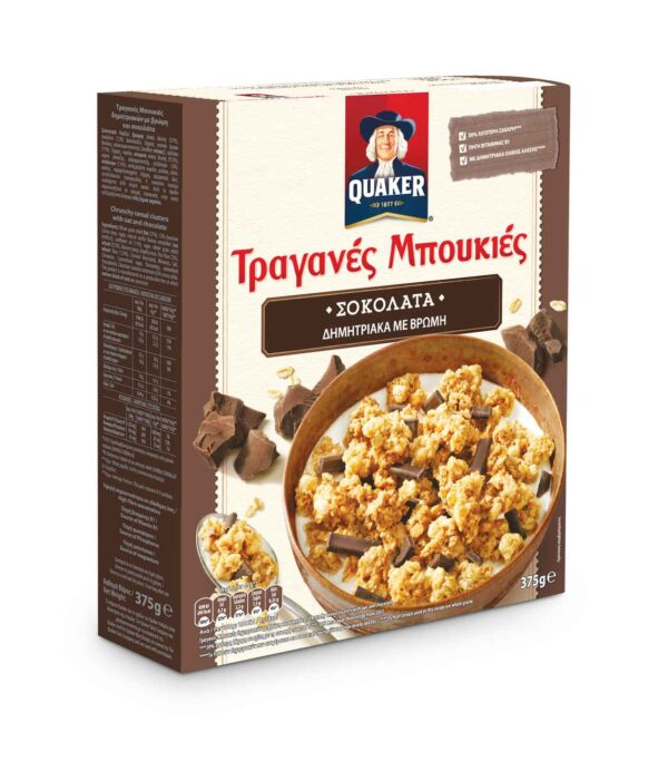 Oats With Quaker Health Chocolate